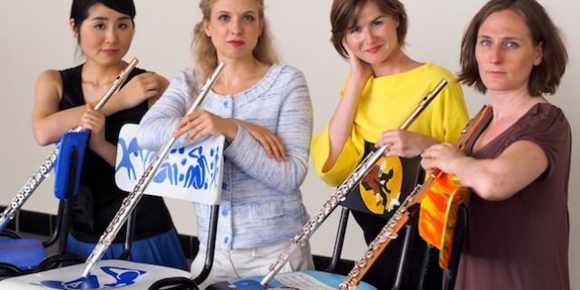 Concert avec le quatuor de flûtes 4 Tempi – juillet 2015