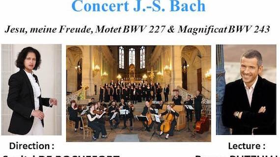 Concert avec l'Ensemble Vocal de Paris – août 2015