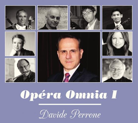 Parution du disque Opéra Omnia I de Davide Perrone – février 2016