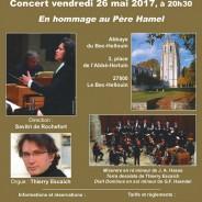 Concert avec l'Ensemble Zoroastre – mai 2017